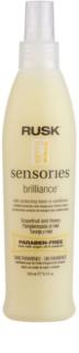 Rusk Sensories Brilliance odżywka w sprayu bez spłukiwania do włosów delikatnych i farbowanych
