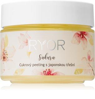 RYOR Face & Body Care cukrový peeling pre jemné čistenie a výživu pokožky