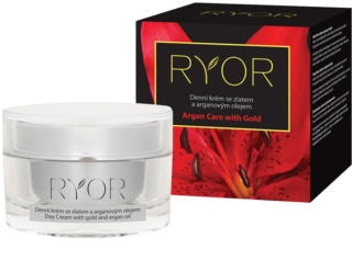 RYOR Argan Care with Gold Tagescreme mit Gold und Arganöl