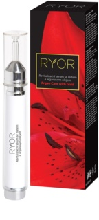 RYOR Argan Care with Gold revitalisierendes Gesichtsserum mit Gold und Arganöl