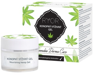 RYOR Cannabis Derma Care gel nutriente alla canapa per viso e corpo
