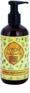 RYOR Wellness and Spa Beer Cosmetics Beer Shampoo With Keratin