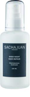 Sachajuan Cleanse and Care Hair Repair emulsión de noche renovadora