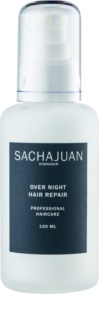 Sachajuan Cleanse and Care Hair Repair erneuernde Emulsion für die Nacht