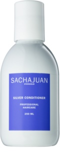 Sachajuan Cleanse and Care Silver hydraterende conditioner die gele tinten neutraliseert