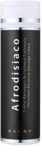 S.A.C.K.Y. Afrodisiaco Wärmende und parfümierte Massage-Creme unisex 200 ml