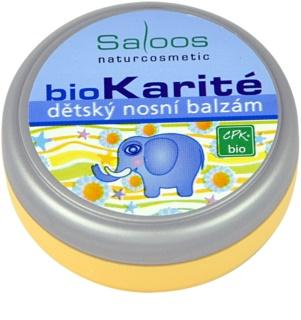 Saloos Bio Karité detský nosový balzam