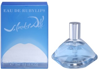 Salvador Dali Eau De Ruby Lips toaletní voda pro ženy 15 ml