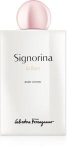Salvatore Ferragamo Signorina in Fiore leche corporal para mujer 200 ml