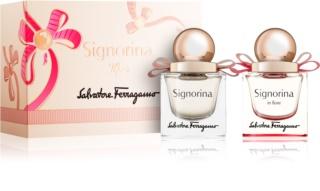 Salvatore Ferragamo Signorina Geschenkset IX. für Damen