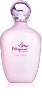 Salvatore Ferragamo Amo Ferragamo Flowerful gel de ducha para mujer 200 ml