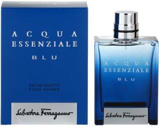 Salvatore Ferragamo Acqua Essenziale Blu Eau de Toillete για άνδρες 100 μλ