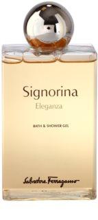 Salvatore Ferragamo Signorina Eleganza гель для душу для жінок 200 мл