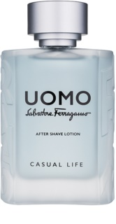 Salvatore Ferragamo Uomo Casual Life loción after shave para hombre 100 ml