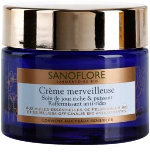 Sanoflore Merveilleuse crema nutritiva pentru fermitate antirid