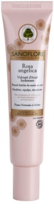 Sanoflore Rosa Angelica Verhelderende Hydraterende Crème  voor Normale tot Droge Huid