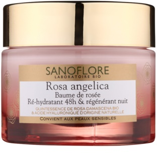 Sanoflore Rosa Angelica Hydrating Night Cream Regenerative Effect