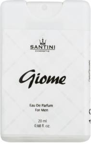 SANTINI Cosmetic Giome eau de parfum pentru barbati 20 ml set pentru voiaj