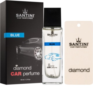 SANTINI Cosmetic Diamond Blue ambientador auto 50 ml