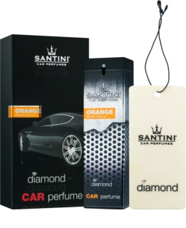 SANTINI Cosmetic Diamond Orange ambientador de coche para ventilación 50 ml