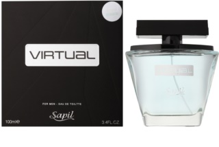 Sapil Virtual Eau de Toilette voor Mannen 100 ml