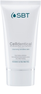 SBT Celldentical gel limpiador exfoliante sin perfume