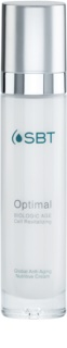 SBT Optimal hranilna dnevna krema proti staranju kože