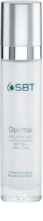 SBT Optimal crema antiarrugas SPF 30