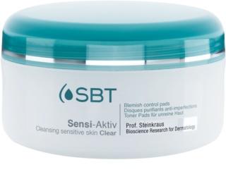 SBT Sensi Aktiv čistilne blazinice za občutljivo kožo