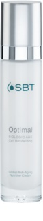 SBT Optimal hranilna in vlažilna krema proti staranju