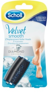 Scholl Velvet Smooth náhradná hlavica do elektrického pilníku na chodidlá 2 ks