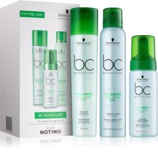 Schwarzkopf Professional BC Bonacure Volume Boost lote de regalo I. (para cabello fino)