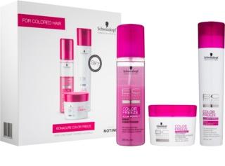 Schwarzkopf Professional BC Bonacure Color Freeze kosmetická sada pro barvené vlasy
