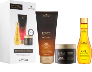 Schwarzkopf Professional BC Bonacure Oil Miracle Argan Oil козметичен пакет  III.