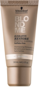 Schwarzkopf Professional Blondme Keratin Restore Shampoo For Blonde Hair