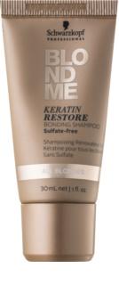 Schwarzkopf Professional Blondme кератинов регенериращ шампоан за руса коса