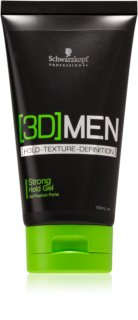 Schwarzkopf Professional [3D] MEN gel cheveux fixation forte