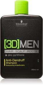Schwarzkopf Professional [3D] MEN šampón proti lupinám