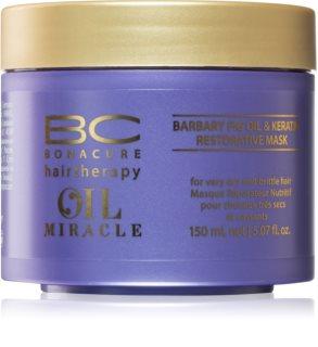 Schwarzkopf Professional BC Bonacure Oil Miracle Barbary Fig Oil Maske für die Haare für sehr trockenes und beschädigtes Haar