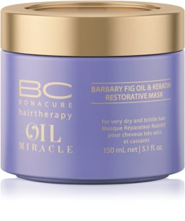 Schwarzkopf Professional BC Bonacure Oil Miracle Barbary Fig Oil Maske für die Haare für sehr trockenes und beschädigtes Haar