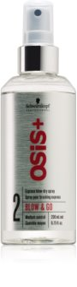 Schwarzkopf Professional Osis+ Blow & Go Express Blow - Dry Spray