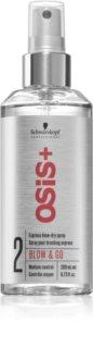 Schwarzkopf Professional Osis+ Blow & Go спрей за бързо изсушаване на косата със сешоар