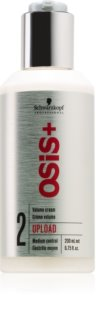 Schwarzkopf Professional Osis+ Upload Volume Hair Cream with Volume Effect