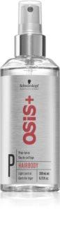 Schwarzkopf Professional Osis+ Hairbody Volume prípravný sprej pred stylingom