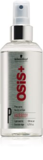 Schwarzkopf Professional Osis+ Hairbody Volume προετοιμαστικό σπρέι πριν το στάιλινγκ