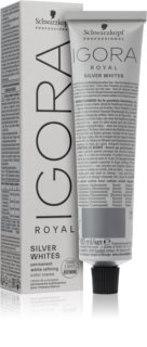 Schwarzkopf Professional IGORA Royal Absolutes SilverWhite Semi-Permanent Hair Dye for Silver and White Hair