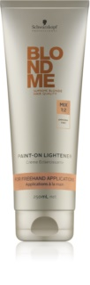 Schwarzkopf Professional Blondme posvetlitvena krema brez amoniaka