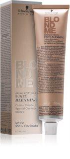 Schwarzkopf Professional Blondme crème éclaircissante pour cacher les cheveux blancs