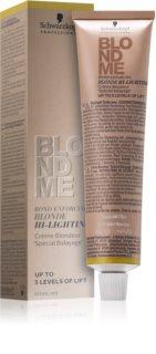 Schwarzkopf Professional Blondme crème éclaircissante
