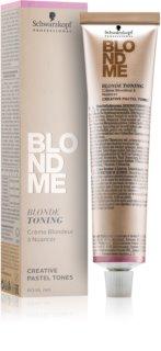 Schwarzkopf Professional Blondme Getinte Crème voor Blond Haar